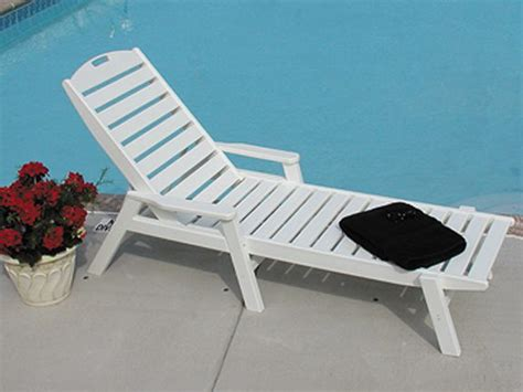 plastic pool chaise lounge chairs pool furniture supply chaise lounge recycled plastic polywood nautical