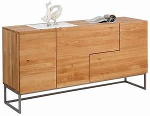 Sideboard 160 Cm : home affaire sideboard svear breite 160 cm aus massiver eiche online kaufen otto ~ Buech-reservation.com Haus und Dekorationen