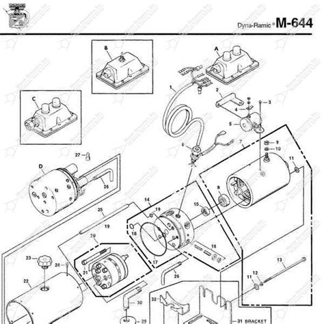 Monarch Wiring Diagram by Monarch Hydraulics M 644 Parts Diagram