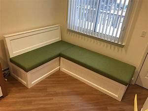 Corner, Bench, Kitchen, Seating, L, Shaped, Bench, Breakfast, Nook
