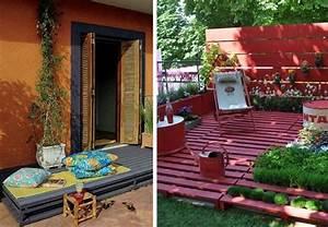 les palettes reinventent le mobilier de jardin With idee pour jardin exterieur 3 les palettes reinventent le mobilier de jardin