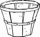 Barrel Apple Coloring Template Colouring Pages sketch template