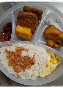 resep nasi uduk rumahan  enak  sederhana cookpad