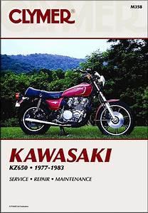 Kawasaki Kz650 Repair  U0026 Service Manual 1977