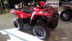 2015 Suzuki Kingquad 750 Axi Recreational Atv