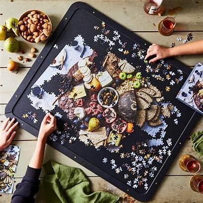 Puzzle Board Assembly Natural Fiber Epicurean Food52