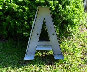 large reclaimed black channel letter quotaquot 24quot tall 5quot deep With outdoor letters for house