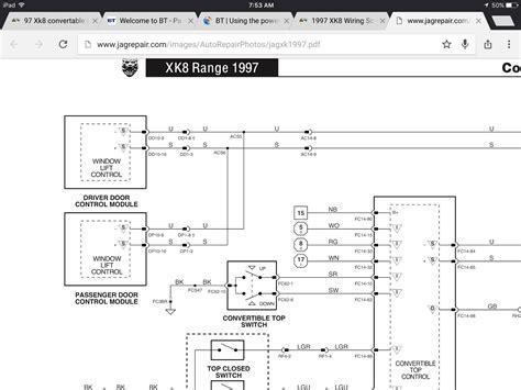 97 xk8 convertable top switch wiring jaguar forums jaguar enthusiasts forum