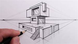 How To Draw A Building In 2
