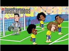 Brazil Germany 17 Cartoon Highlights 09072014 YouTube
