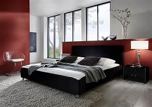 Bett 140 Cm : polsterbett doppelbett bett 140 x 200 cm schwarz zarah ~ Orissabook.com Haus und Dekorationen