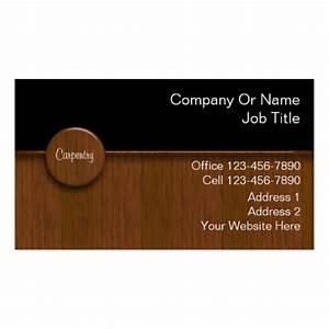 Carpenter business cards zazzle for Carpenter business cards
