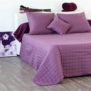 Couvre Lit Matelassé Ikea : couvre lit matelass venus prune eminza ~ Melissatoandfro.com Idées de Décoration