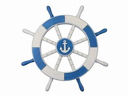 Wheel Ship Nautical Anchor Clipart Clip Decorative