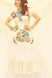 77 best collection inspiration frida kahlo images on With hispanic wedding dresses