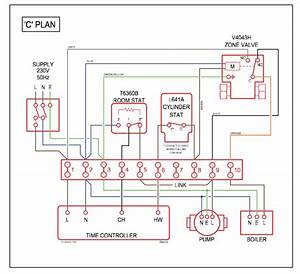 Domestic Central Heating System Wiring Diagrams  C  W  Y  U0026 S Plans