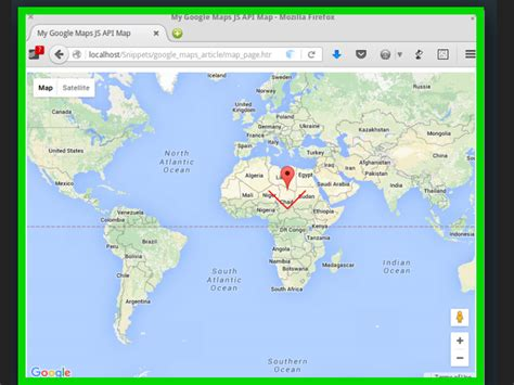 How To Make A Map Using Google Maps Js Api (with Pictures
