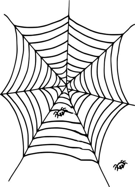 toile d araignee en papier coloriage toile d araign 233 e 224 imprimer