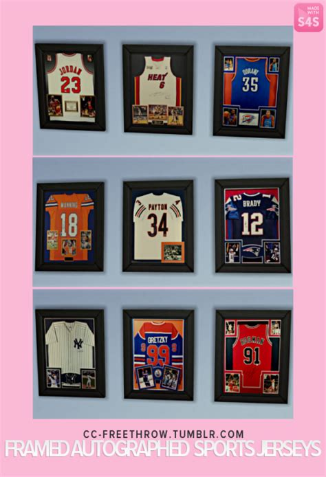 framed sports jerseys sims 4 updates sims 4 finds sims 4 must haves free sims 4