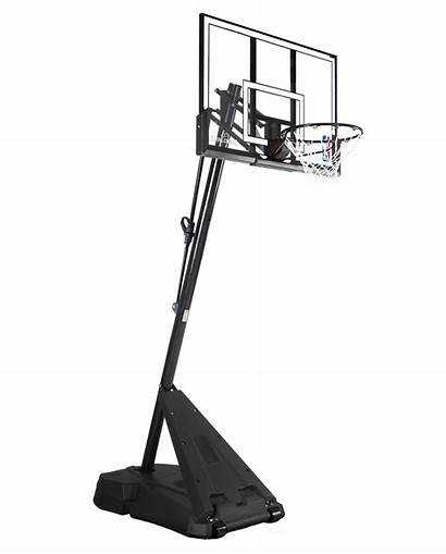 Basketball Hoop Portable Spalding System Pole Advanced