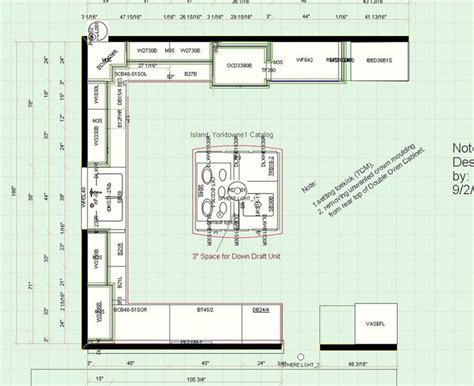 kitchen remodeling floor plans 7 best images about prokitchen software 3d floor plan 2 5570