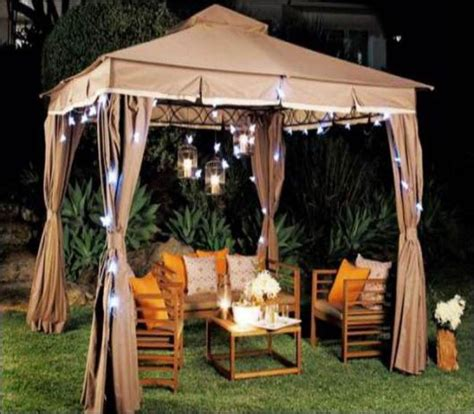 25 best ideas about gazebo lighting on