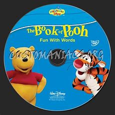 The Book Of Pooh Fun With Words Dvd Label  Dvd Covers & Labels By Customaniacs, Id 151993 Free