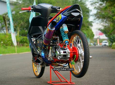 Modif Mio Soul Racing Look by Foto Motor Drag Bike Impremedia Net