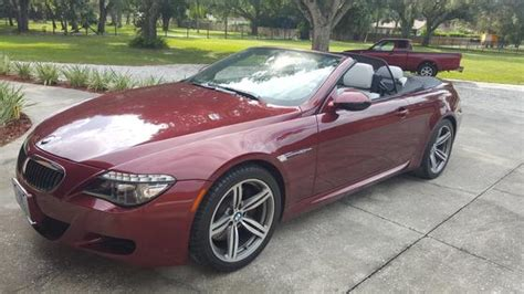 2009 Bmw M6 Convertible For Sale In Sarasota, Fl