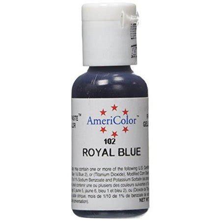 food coloring at walmart americolor soft gel paste food color royal blue walmart