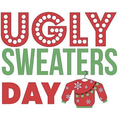 student council spirit day ugly holiday sweater day silver strand