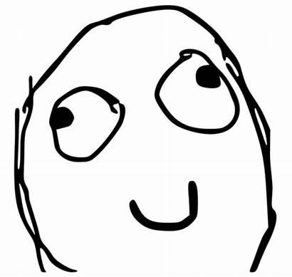 Derp Herp Face Profile Smile Meme Rage