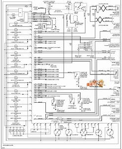 96 Volvo 960 Instrument Panel Circuit Diagram