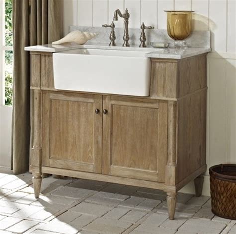 Bathroom Vanity Farmhouse Sink by 33 Stunning Rustic Bathroom Vanity Ideas Remodeling Expense