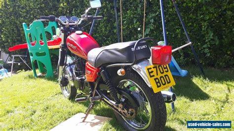 1988 Suzuki Gn250 For Sale In The United Kingdom