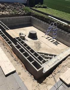Swimmingpool Selber Bauen : swimmingpool garten pool selber bauen schwimmb der ~ Watch28wear.com Haus und Dekorationen