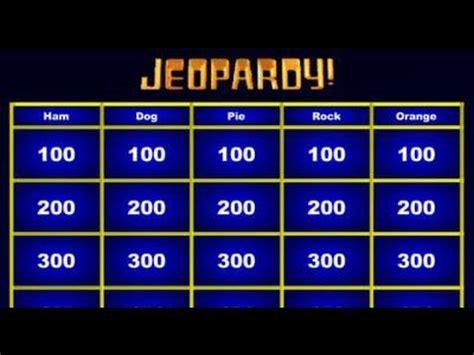 jeopardy maker    powerpoint youtube