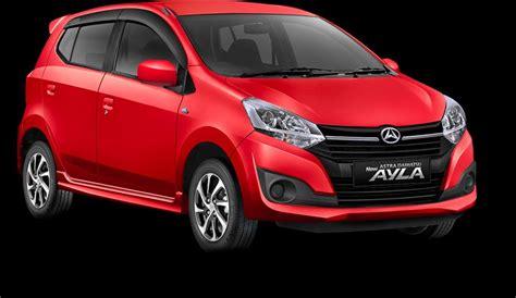 Gambar Mobil Daihatsu Ayla by New Ayla Facelift Terbaru 2017 Mobilbekas