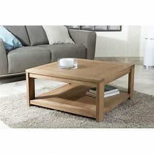 Table Basse Carrée 100x100 : table basse carr e 80 x 80 sous plateau dpi import ~ Teatrodelosmanantiales.com Idées de Décoration