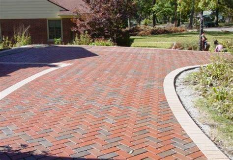 brick driveway designs patterns brick driveway custom brick driveway