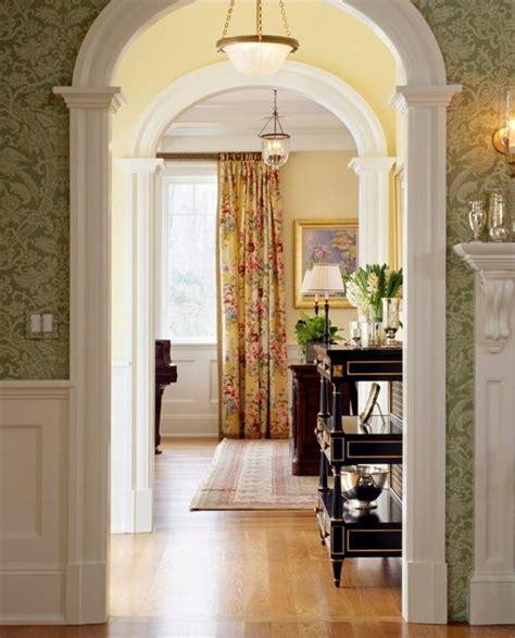 modern interior design  decorative pilasters adding