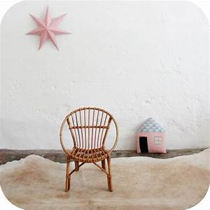 Fauteuil Rotin Enfant : mobilier vintage fauteuil rotin enfant vintage atelier du petit parc ~ Teatrodelosmanantiales.com Idées de Décoration