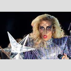 Lady Gaga At Super Bowl Halftime Show 2017  Lady Gaga Takes Stage At Super Bowl Halftime Show