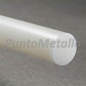 Tondo Nylon Pa6 Diametro Nominale 25 Mm Col  Bianco