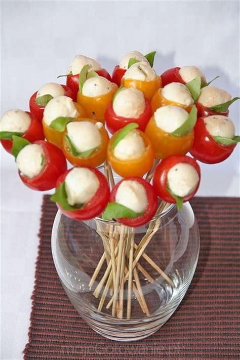 cuisiner des cailles bouquet of tomates mozza pour un apéritif réussi
