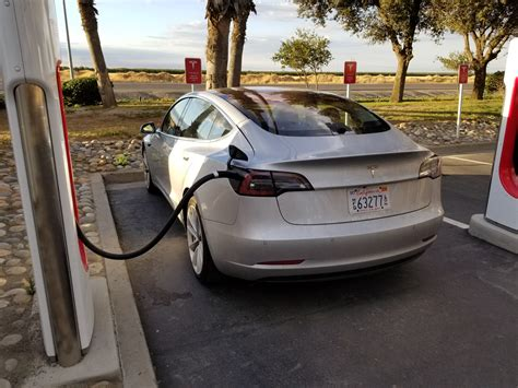 tesla model s charging closest look yet at tesla model 3 exposes panel gaps