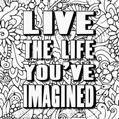 Coloring Pages Adult Ve Getcoloringpages Pattern Quotes
