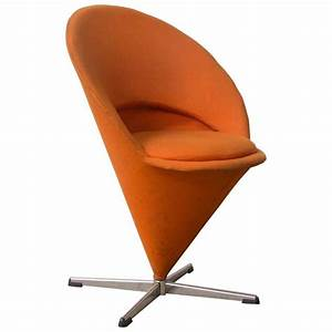 Panton Chair Original : 1958 verner panton for rosenthal cone chair in original ~ Michelbontemps.com Haus und Dekorationen