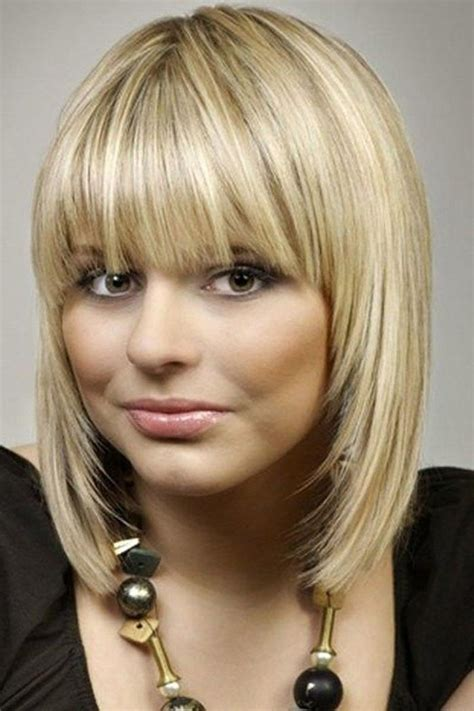 15 best collection of short to medium hairstyles with bangs