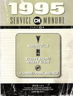 service and repair manuals 1995 pontiac bonneville regenerative braking 1995 buick auto repair manuals